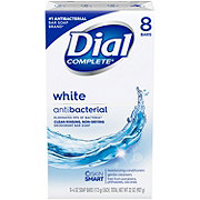 Dial White Anti-bacterial Soap Bars
