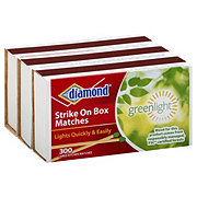 Diamond Greenlight Strike On Box Large Kitchen Matches