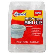 Diamond Mini Cups, 2 oz