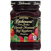 Dickinson's Pure Seedless Red Raspberry Cascade Mountain Preserves