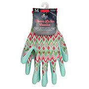Digz Women's Foam Latex Coated Stretch Knit Gardening Gloves