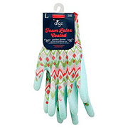 Digz Women's Foam Latex Coated Stretch Knit Gardening Gloves