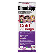 Dimetapp Children's Cold & Cough Antihistamine Suppressant & Decongestant