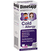 Dimetapp Cold & Allergy Grape Flavor