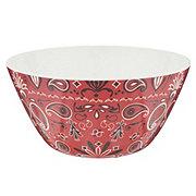 Dining Style Bandana Large Serving Bowl