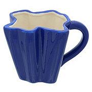 Dining Style Ceramic Texas Shaped Mug Assorted Colors