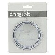 Dining Style Clear Replacement Lid Small