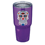 Dining Style Day Of The Dead Stainless Steel Skull Tumbler