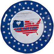 Dining Style Flag Salad Plate