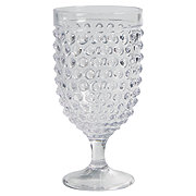 Dining Style Holiday Hobnail 15oz Clear Goblet Shop Dining Style
