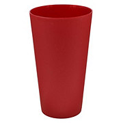 Dining Style Ice Tea Cup Red