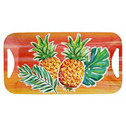 Dining Style Melamine Pineapple Tray