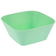 Dining Style Small Square Bowl Green
