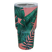 Dining Style Stainless Steel Palm Tumbler