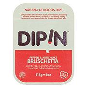 Dipin Pepper and Artichoke Bruschetta