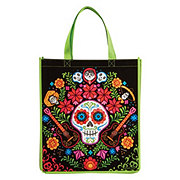 Disney Coco Green Side Flowers Tote