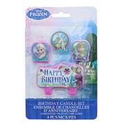 Disney Frozen Birthday Candle Set, 4 CT