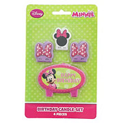 Disney Minnie Mouse Moulded Candles