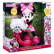 Disney Minnie Sing And Spin Plush