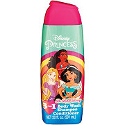 Disney Princess Berry Bouquet 3-in-1 Body Wash, Shampoo and Conditioner