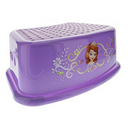 Marvelous Disney Princess Contoured Girl Step Stool Purple Shop Pabps2019 Chair Design Images Pabps2019Com
