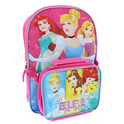 Disney Princess Dream Big Backpack With Lunch Kit