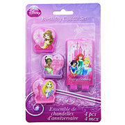 Disney Princess Molded Candles