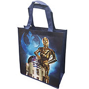 Disney Star Wars C3po and R2D2 Reusable Tote Bag