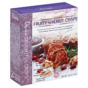 Diva's Delightful Fruity Walnut Crisps