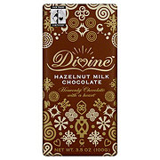 Divine Hazelnut Milk Chocolate Bar