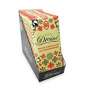 Divine White Chocolate Bar With Strawberries