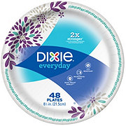 Dixie Everyday Paper Plates, 8-1/2 inch
