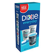 Dixie Everyday Printed Paper Bath Cups, 3 oz