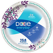 Dixie Everyday Printed Paper Plates, 8-1/2 inch