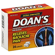 Doan's Extra Strength Pain Reliever Magnesium Salicylate Tetrahydrate 580 mg Caplets