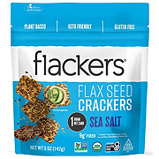 Doctor In The Kitchen Flackers Organic Sea Salt Crackers