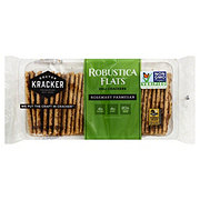 Doctor Kracker Robustica Flats Rosemary Parmesan Deli Crackers