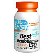 Doctor's Best Benfotiamine 150 mg Veggie Caps