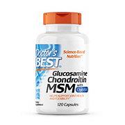 Doctor's Best Glucosamine Chondrotin MSM 120 Capsules