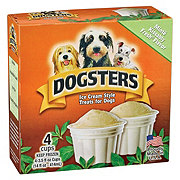 Dogsters Minte Kissably Fresh Flavor Ice Cream Treats