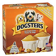 Dogsters Nutly Peanut Butter Cheese Flavor Ice Cream Treats