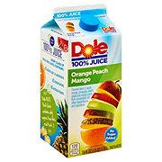 Dole 100% Orange Peach Mango Juice