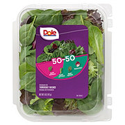Dole 50/50 Spring Mix And Baby Spinach Blend Clamshell
