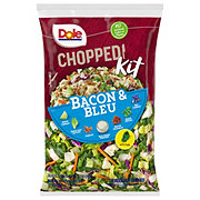Dole Chopped Bacon And Bleu Salad Kit