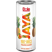 Dole Jaya 100% Juice Pineapple & Mango 8.4 oz Cans