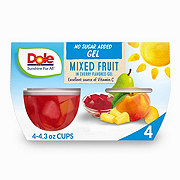 Dole Mixed Fruit In Cherry Sugar Free Gel