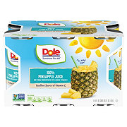 Dole Pineapple Juice 6 ct