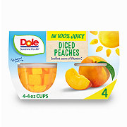 Dole Yellow Cling Diced Peaches in 100% Juice