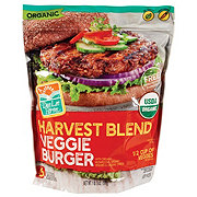 Don Lee Farms Organic Harvest Blend Veggie Burgers