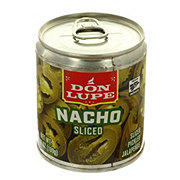 Don Lupe Pickled Jalapenos Nacho Sliced